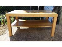 Second hand ikea coffee table