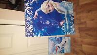 Selling frozen posters on canvas