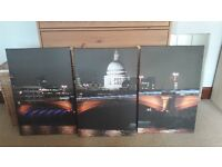 Large canvas print of St Pauls Cathedral