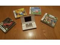 Nintendo Ds & 4 games