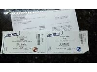 Soulwax tickets x2 for Manchester o2