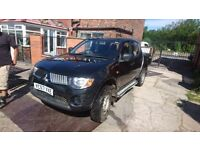 MITSUBISHI L200, tested ready to go only £2495ono,
