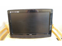 """Bush 19"""" HDready free view tv with built in dvd player."""