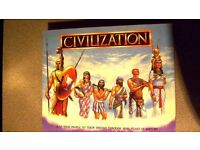 Civilization Board Game (1988) Complete - unpunched