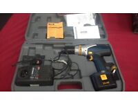 RYOBI DRILL 14.4V WITH BATTERY AND POWER CHARGER IN GOOD WORKING CONDITION AVAILABLE FOR SALE