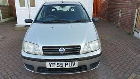 55 Fiat Punto Grey/sliver 4 Door Hatch Back MOT October 17 Nice n Smooth Drive in Reddish Stockport