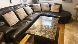 Genuine marble coffee table (very heavy)