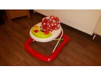 Red Kite Baby Go Round Jive Baby Walker - from ASDA