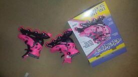 Ekektra inline skates (pink)