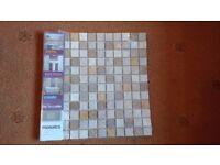 Stone mosaic bathroom/kitchen tiles