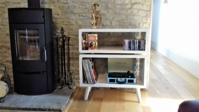 Record Player Stand Storage Cabinet Vinyl Storage Cabinet Media
