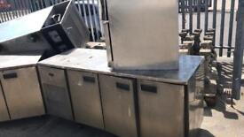 Stainless steel fridge and freezers free!