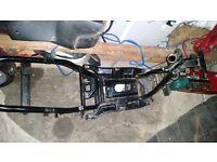 Piaggio Nrg Power Chassis/Frame