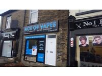 TIDY SHOP OFFICE TO LET RENT ON BUSY MAIN ROAD IN BRADFORD BD8 * ECIGS * CAFE * FAST FOOD * VAPES