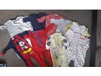 Huge baby boy bundle size 3-6 months 80+ items