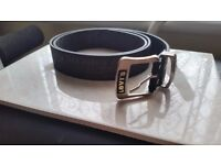 Levi's 501 Black Leather Belt - COLLECTION ONLY