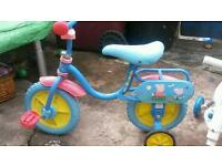 Peppa pig toddler bike