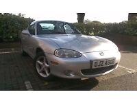 2002 1.6 Mazda MX-5 for sale, long MOT