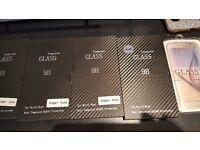 Samsung Galaxy s6s6 edge plus tempered glass screen protectors