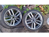 Alloy wheels for Mercedes C & E class,Porsche Cayenne,AUDI,VW and space/spare Wheels