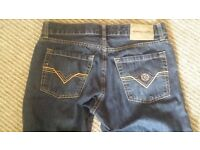 Mens Jeans 1 x Henri Lloyd, 1 x FCUK W32 good condition