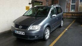 Very goood condition VW touran 2.0 TDI Automatic and leather seat