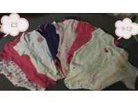 Baby clothes 9-12 mc