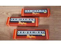 Hornby Railways 3 x B.R. Trailer Second D.M.U. coach R.699
