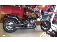 Yamaha Dragstar XVS 650 chop