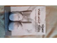 Baby monitor . Tomy walkabout advance