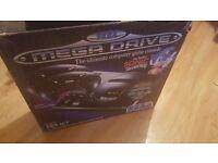 Sega Megadrive Boxed Retro 90's