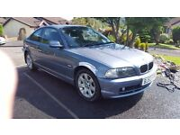 BMW 318 CI SE 1995cc 2 DOOR COUPE 2003-53, LOOK ONLY 101K FROM NEW,