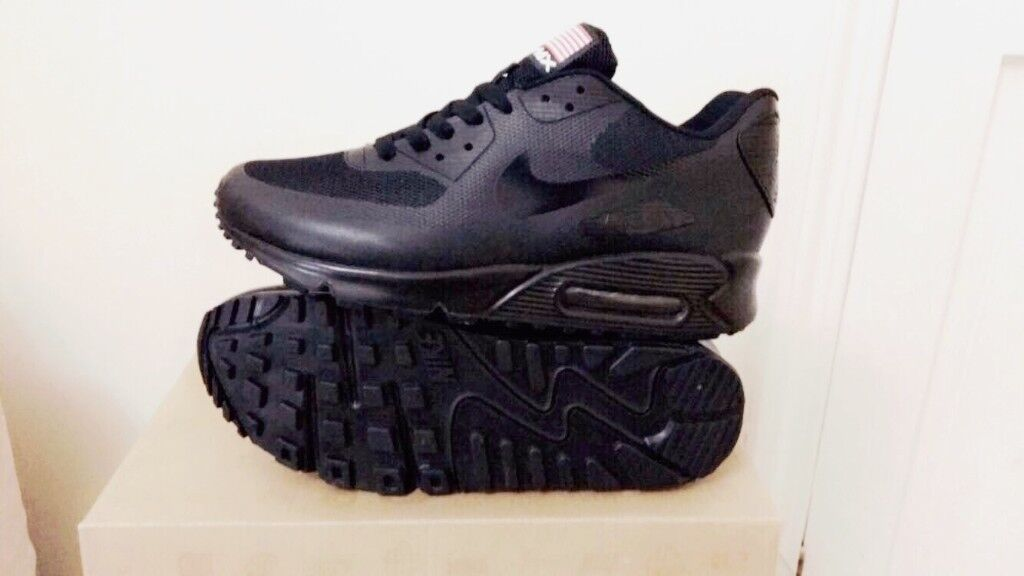 sale retailer 139e6 7e26f ... release date nike air max 90 hyperfuse black independance day all sizes  inc delivery paypal 15c0e