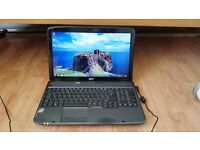 acer aspire 5735 windows 7 4g memory 150g hard drive webcam wifi dvd drive