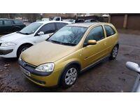 Vauxhall Corsa 1.2 16v 2002