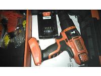 black and decker cordless 18v combi drill