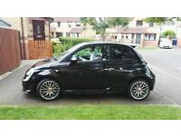 Stunning Black Abarth 500 for Sale