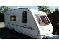 2005 Sterling Eccles Emerald caravan,4 berth, extremely good condition, one owner, motor mover, FSH