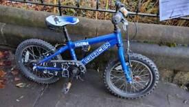 "Saracen bolt 16"" kids bike"
