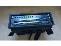 Proel AMIX63 Mixer Preamp and two Citronic RU26 multi uhf wireless mic system