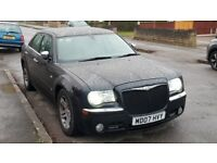 Chrysler 300c - Black 3ltr auto in good condition