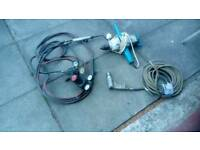 Air gun gas torch and hossesand drill