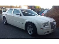 Chrysler 300c hemi 5.7 in white