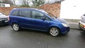 Vauxhall Zafira 1.9cdti LHD