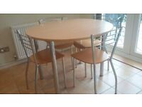 Kitchen Table & 4 Chairs from John Lewis