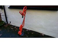 FLYMO GARDEN STRIMMER MAINS OPERATED 500W HARDLY USED