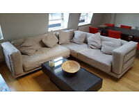 IKEA L shape corner sofa