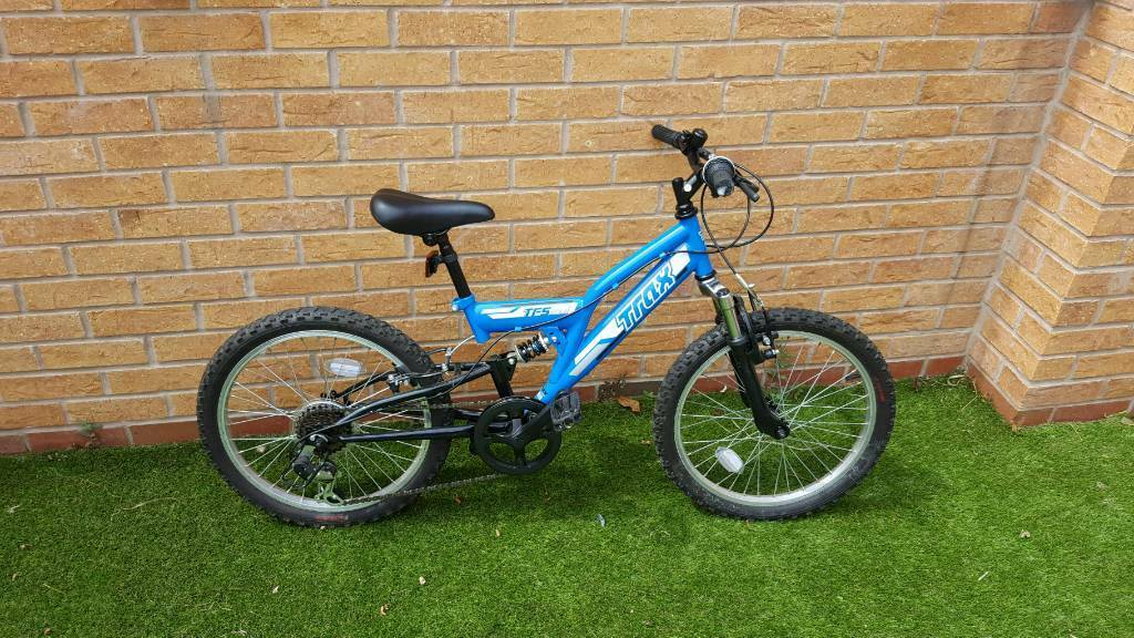 Boys Trax Mountain Bike Age 4in Blyth, Northumberland - Always garaged and in brand new condition as only used a couple of times between the ages of 4 and 6.Great bike for that next step up