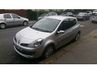 NEW shape Renault CLIO in superb condition and very LOW mileage going CHEAP as it MUST GO