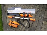 VonHaus extendable hedge trimmer 600W